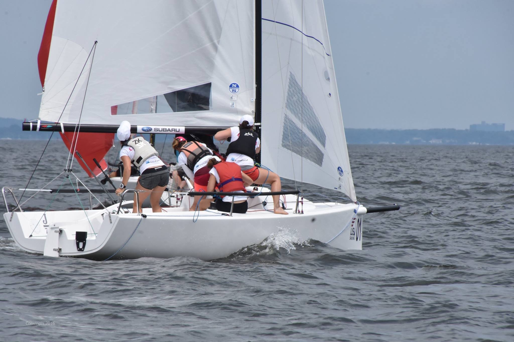 Women's Keelboating World Champs